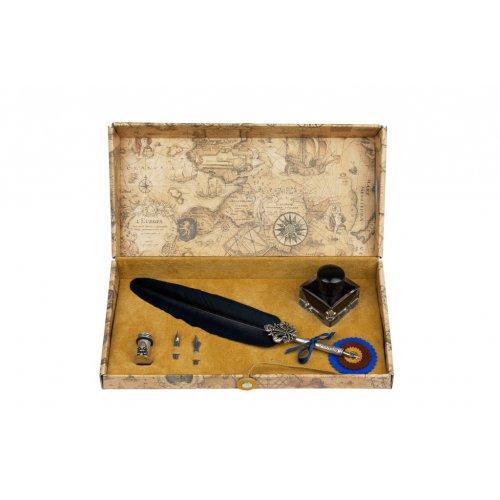 Set de scris cu pana si accesorii