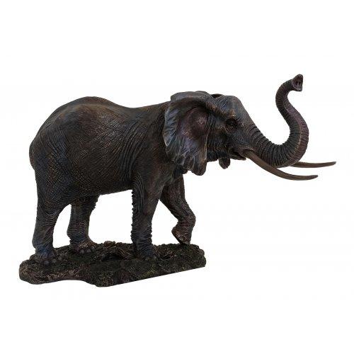 Statueta rasina si bronz 'Elefant'