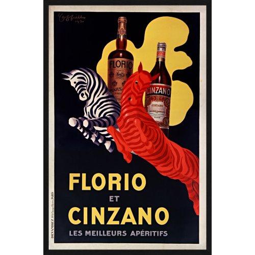 """Tablou """"Florio et Cinzano"""""""