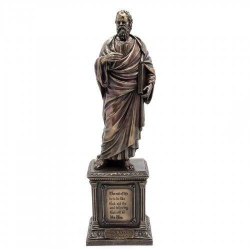 Statueta rasina si bronz, Socrate