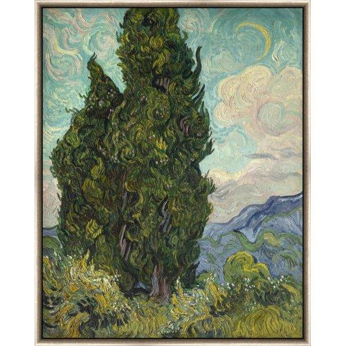 "Tablou ""Chiparoși"" Vincent Van Gogh"