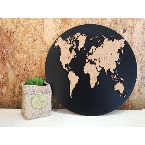Placa decorativa - Harta lumii