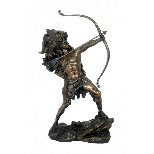 Hercule, statueta rasina si bronz