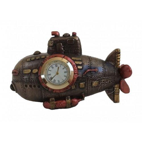 Ceas de birou, steampunk, model submarin