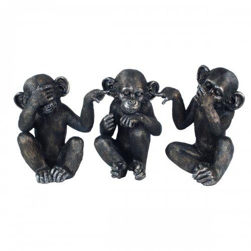 Cele 3 maimute intelepte, set